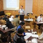 Stephan presenting family seminar