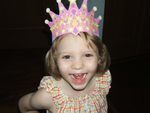 Queen of the party!